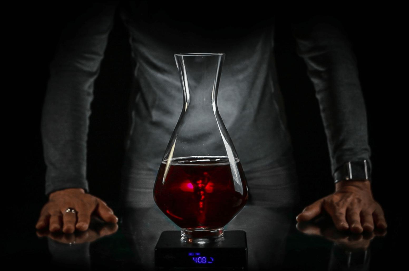 vSpin аэрирует вино