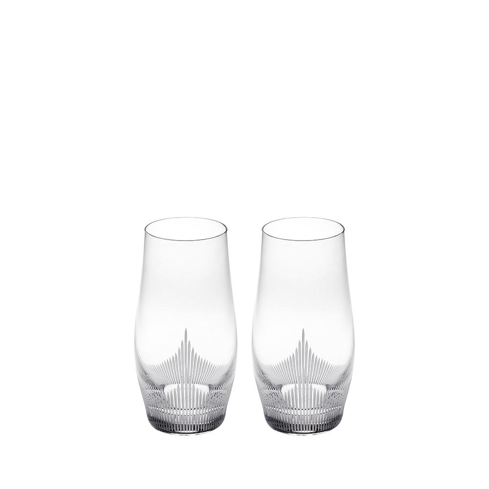 Набор из 2 стаканов для воды Lalique Large Size Tumbler
