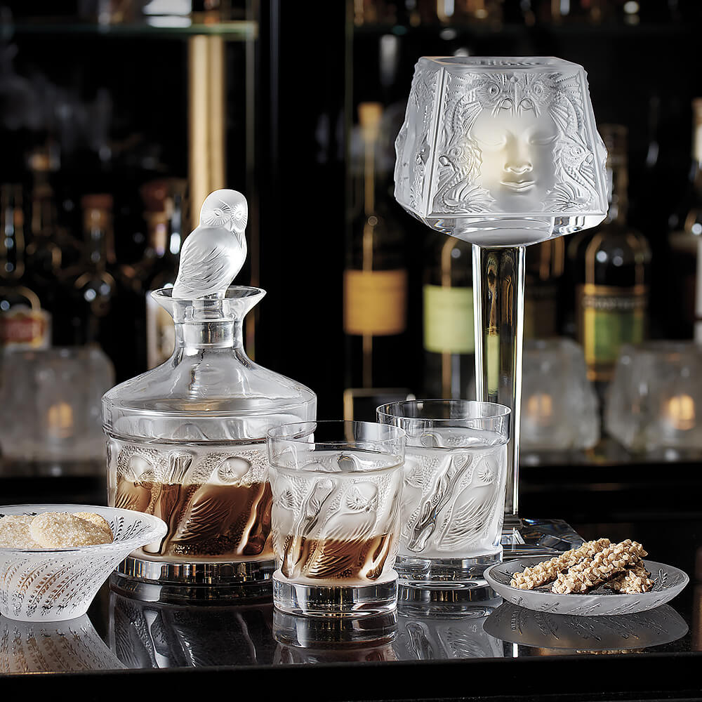 Lalique бокалы для белых вин